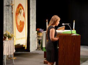 Maryellen Brennan doing the second reading